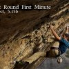 Chris Sharma Does First Ascent Of First Round First Minute In Margalef
