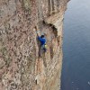 Longhope Direct:  5.14ish Trad FA By Dave MacLeod
